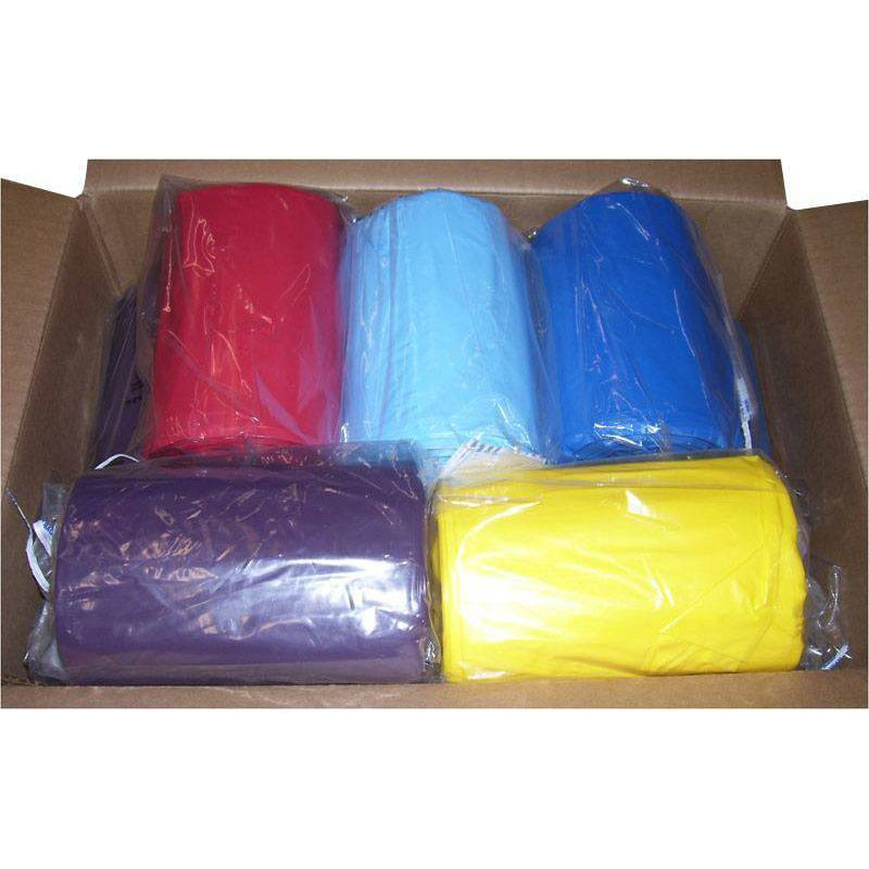 13 Gallon 24 Quot X33 Quot 1 1 Mil Lld Colored Trash Bags Can Liners Direct Disposables