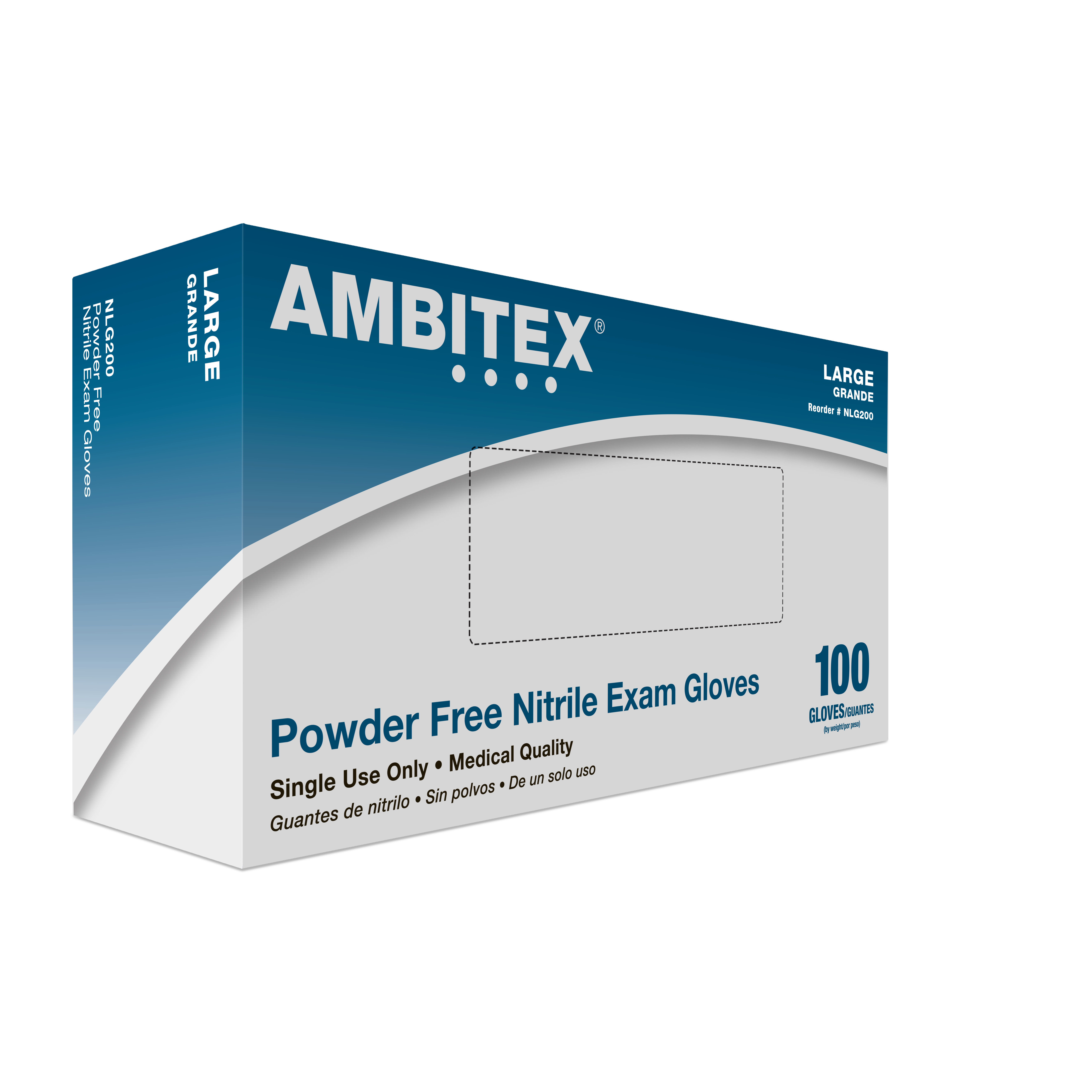 Nitrile Powder Free Exam Gloves Direct Disposables