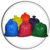 "33 Gallon 33""x39"" 2.0 mil. LLD Colored Trash Bags Can Liners"