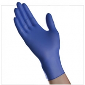 Chemotherapy rated Nitrile Blurple Powder Free Exam Gloves